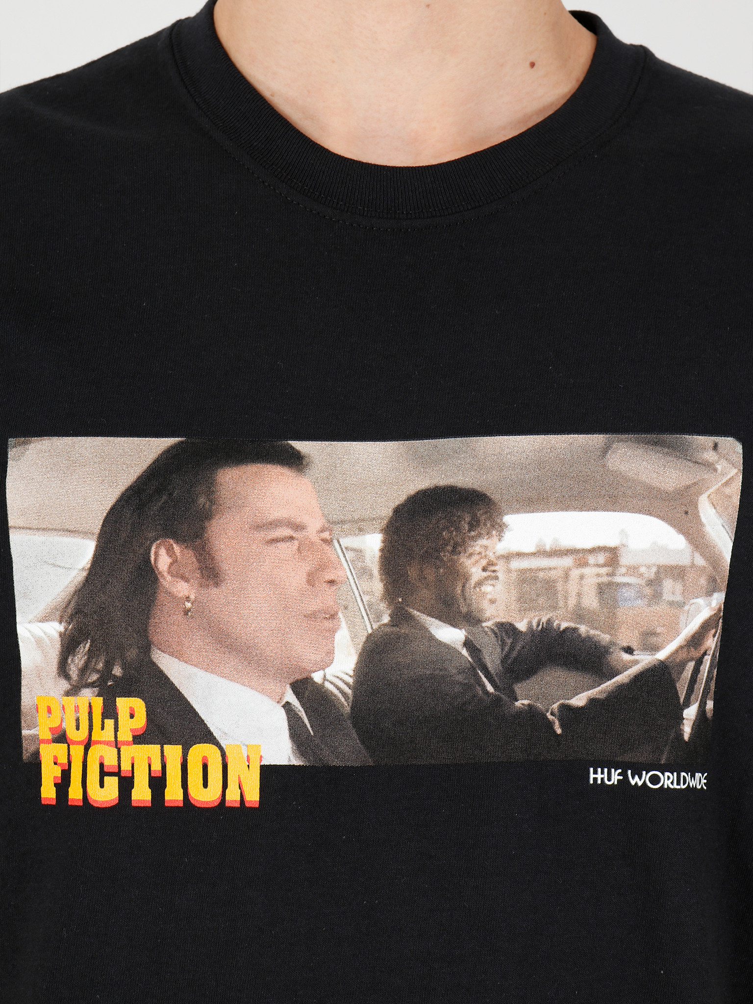 HUF HUF Royale With Cheese Short Sleeve Tee Black TS01312