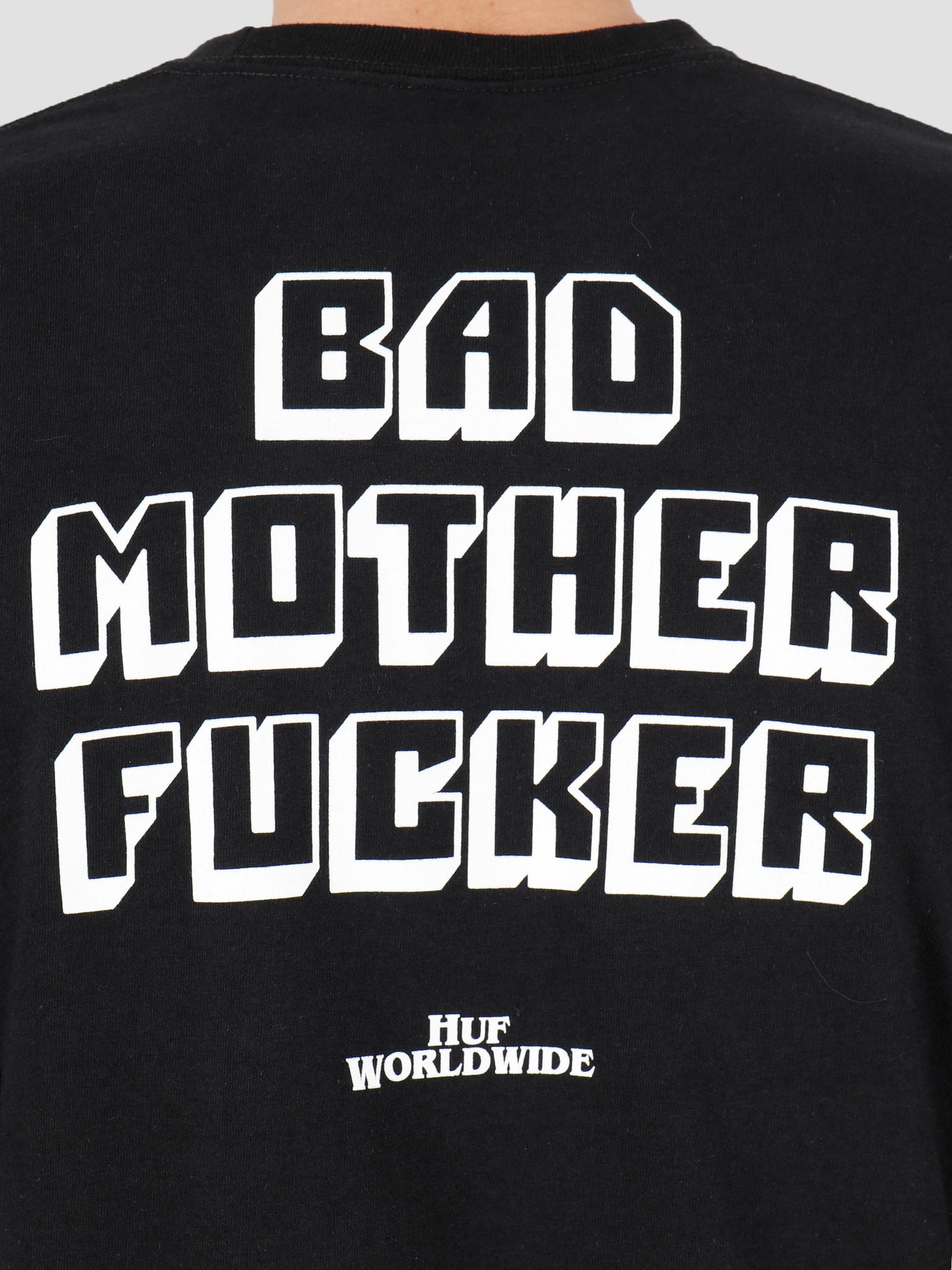 HUF HUF Bad Mother Fucker Longsleeve Tee Black TS01309