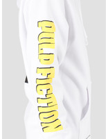 HUF HUF Pulp Fiction Mia Printable Pullover Hoodie White PF00337