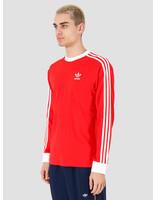 adidas adidas 3-Stripes Longsleeve Lush Red FM3776
