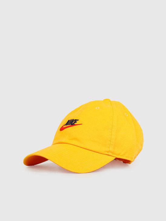 Nike U NSW H86 Futura Wash Cap University Gold 913011-739