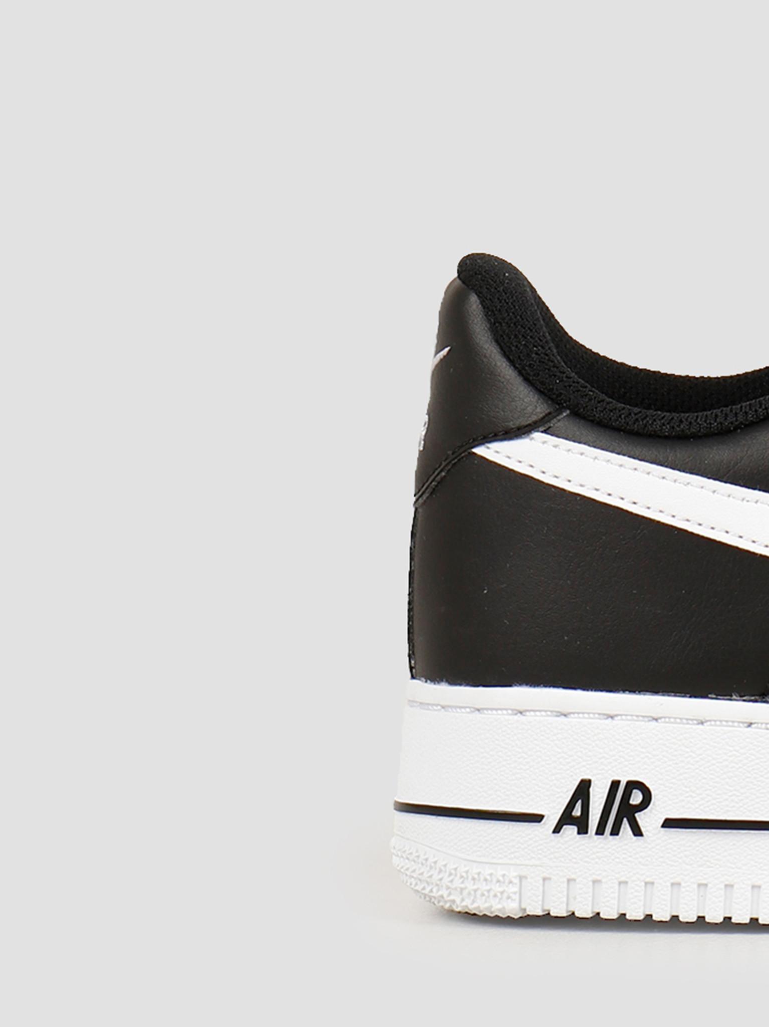 Nike Air Force 1 '07 An20 Black White CJ0952 001