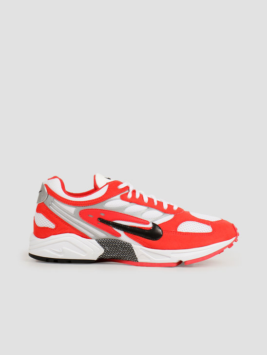 Nike Air Ghost Racer Track Red Black White Metallic Silver AT5410-601