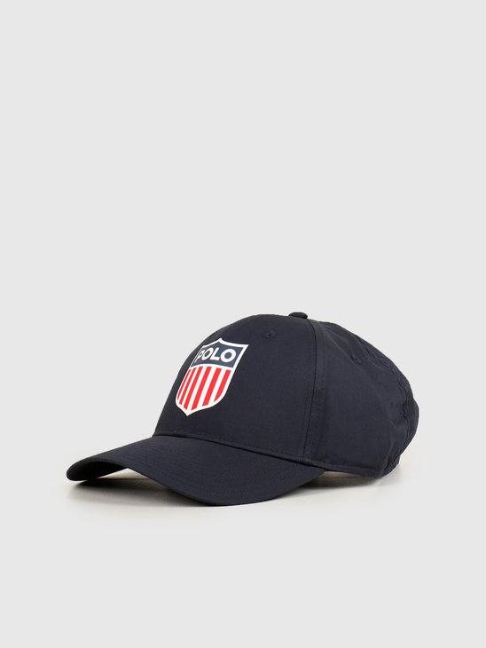 Polo Ralph Lauren Athletic Cap Hat Navy 710783453001