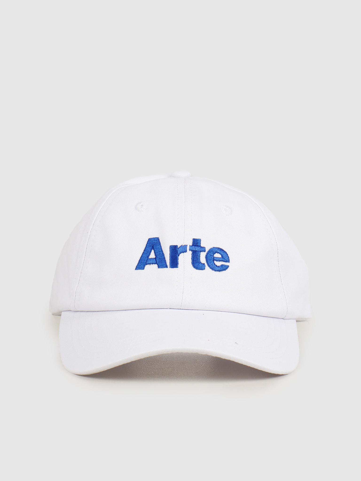 Arte Antwerp Arte Antwerp Coach K Cap White SS20-063CP