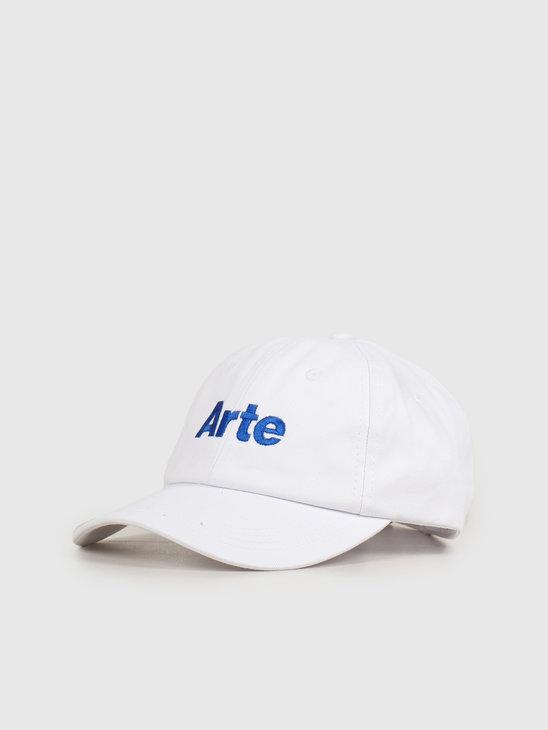 Arte Antwerp Coach K Cap White SS20-063CP