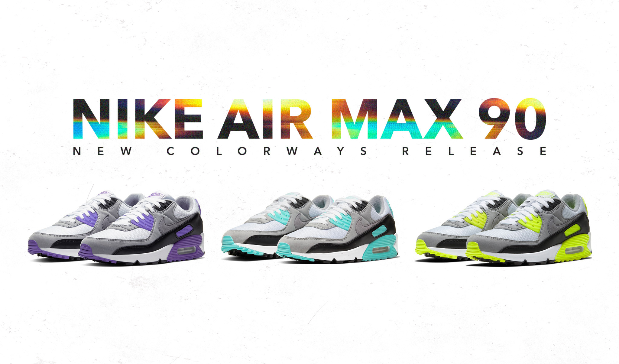 Nike Air Max 90 new color ways release