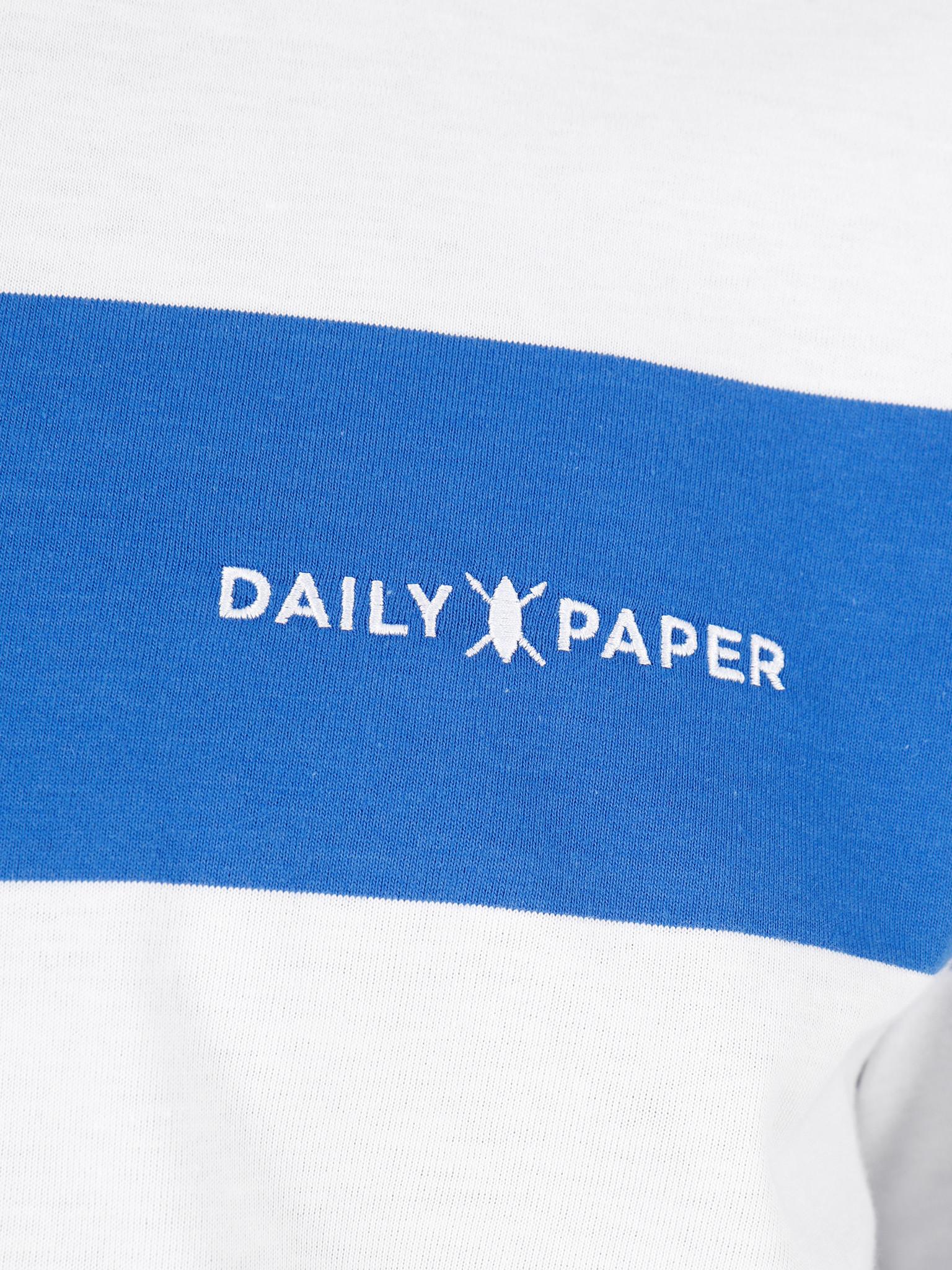 Daily Paper Daily Paper Striped T-Shirt Olympian Blue Stripe 20E1TS03-01