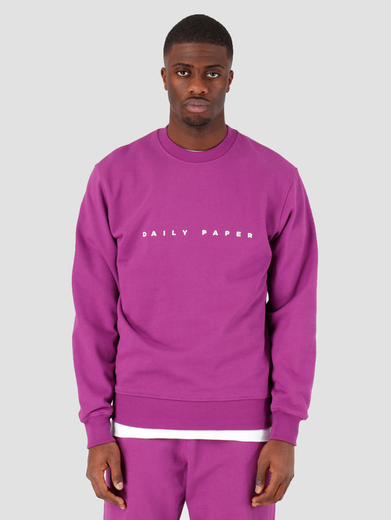 Daily Paper Esalias Sweater Magenta Purple 20E1SW01-01