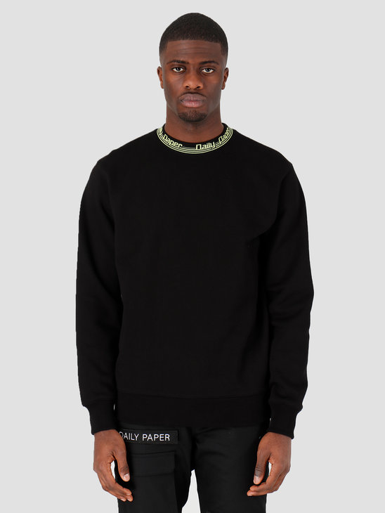 Daily Paper Rib Sweater Black 20E1SW02-01