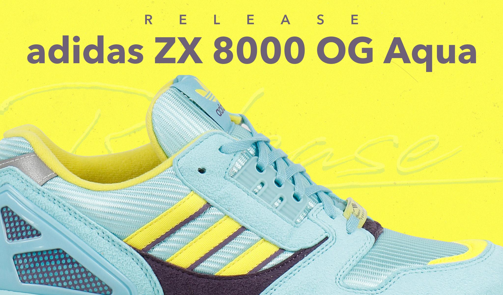 Release - adidas ZX 8000 OG Aqua