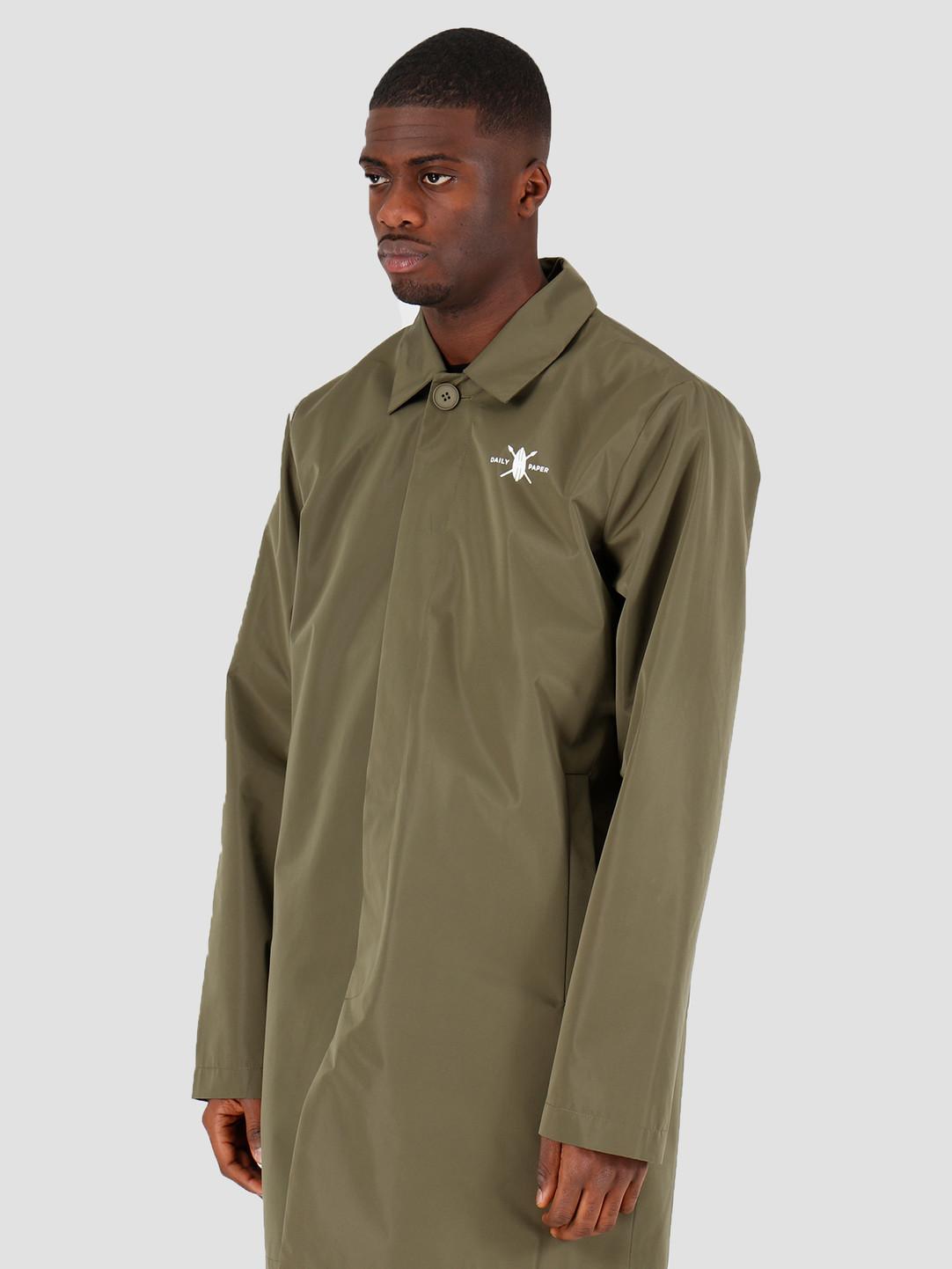 Daily Paper Daily Paper Amack Jacket Grap Leaf Grey 20E1OU03-01