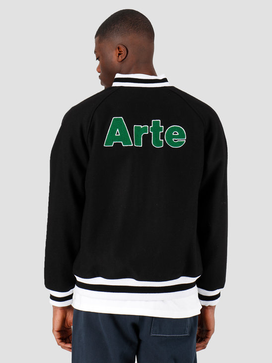 Arte Antwerp Johnson Jacket Black SS20-012J
