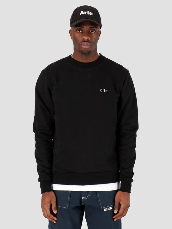 Arte Antwerp Chuck Logo Sweater Black SS20-009C