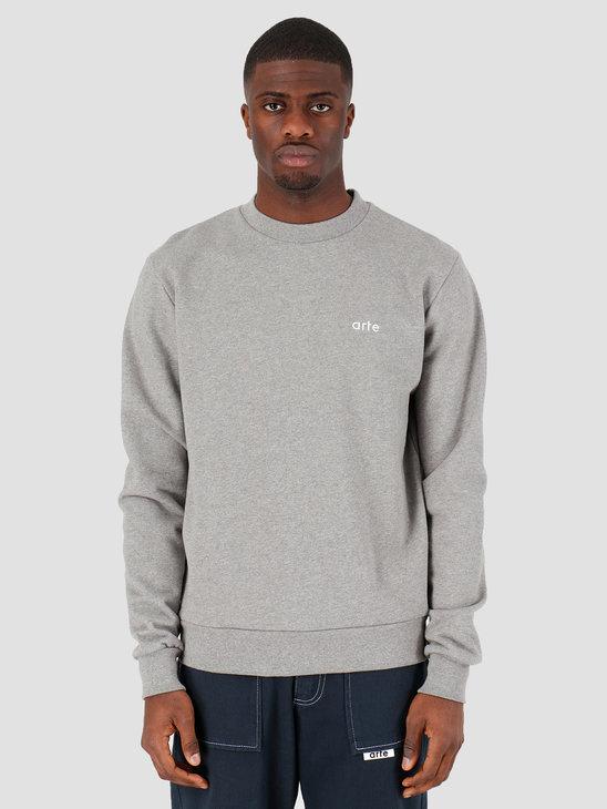 Arte Antwerp Chuck Logo Sweater Grey SS20-009C
