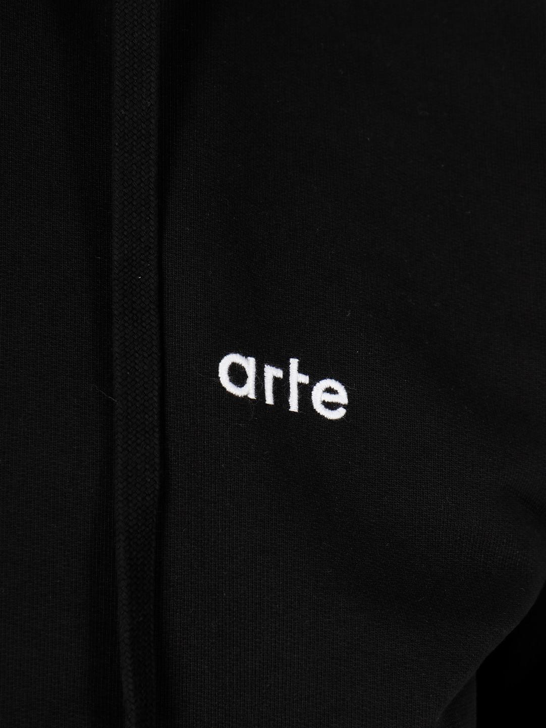 Arte Antwerp Arte Antwerp Hick Hoodie Black SS20-026H