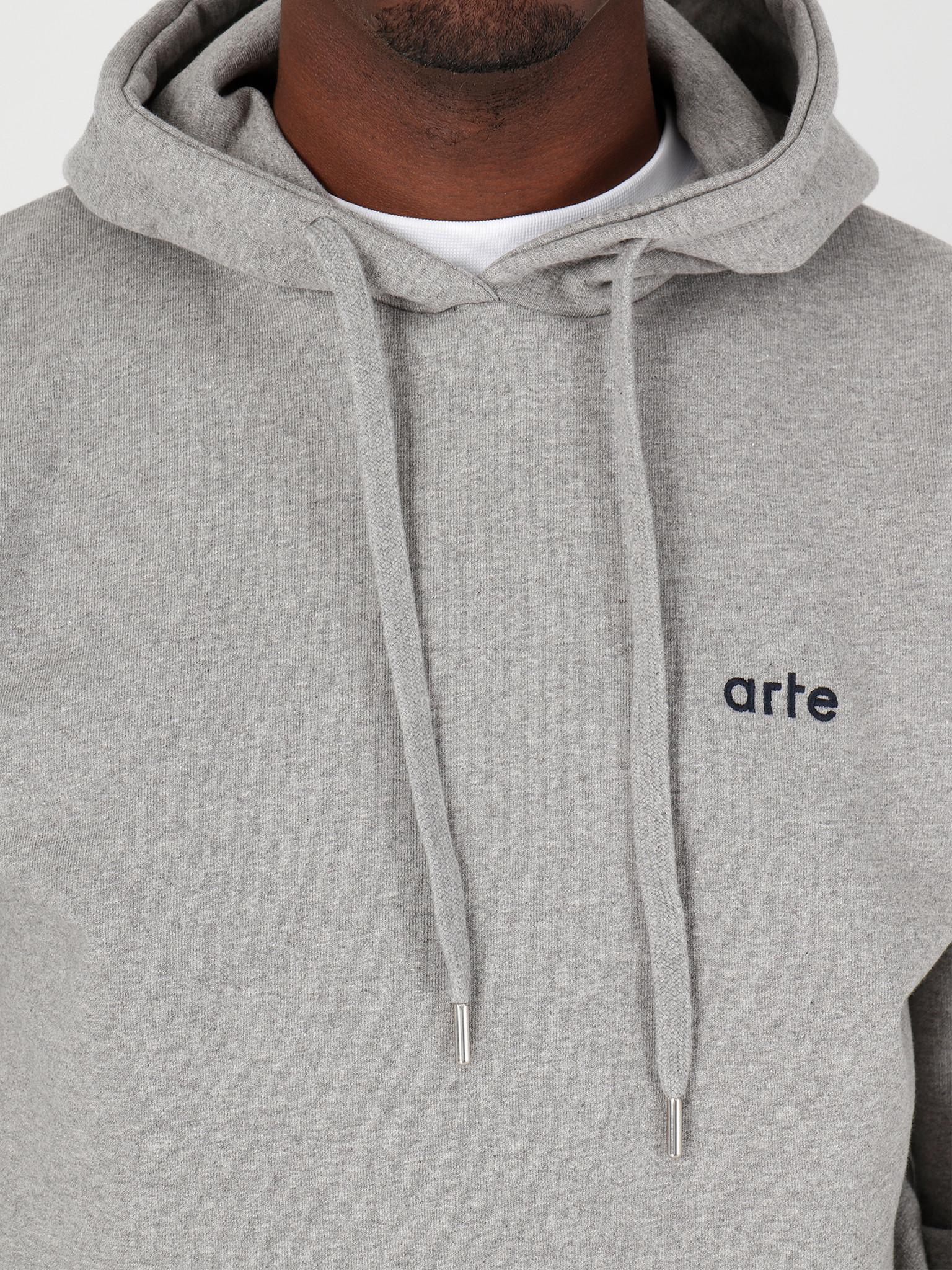 Arte Antwerp Arte Antwerp Hick Hoodie Grey SS20-026H