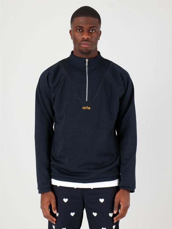 Arte Antwerp Pippen Sweater Sweater Navy SS20-017SW