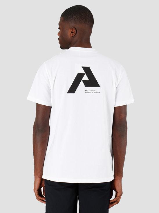 Arte Antwerp Thomas P.A. T-shirt White SS20-014T
