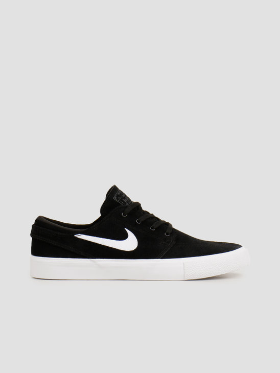 Nike SB Zoom Janoski Rm Black White Thunder Grey Gum Light Brown AQ7475-001