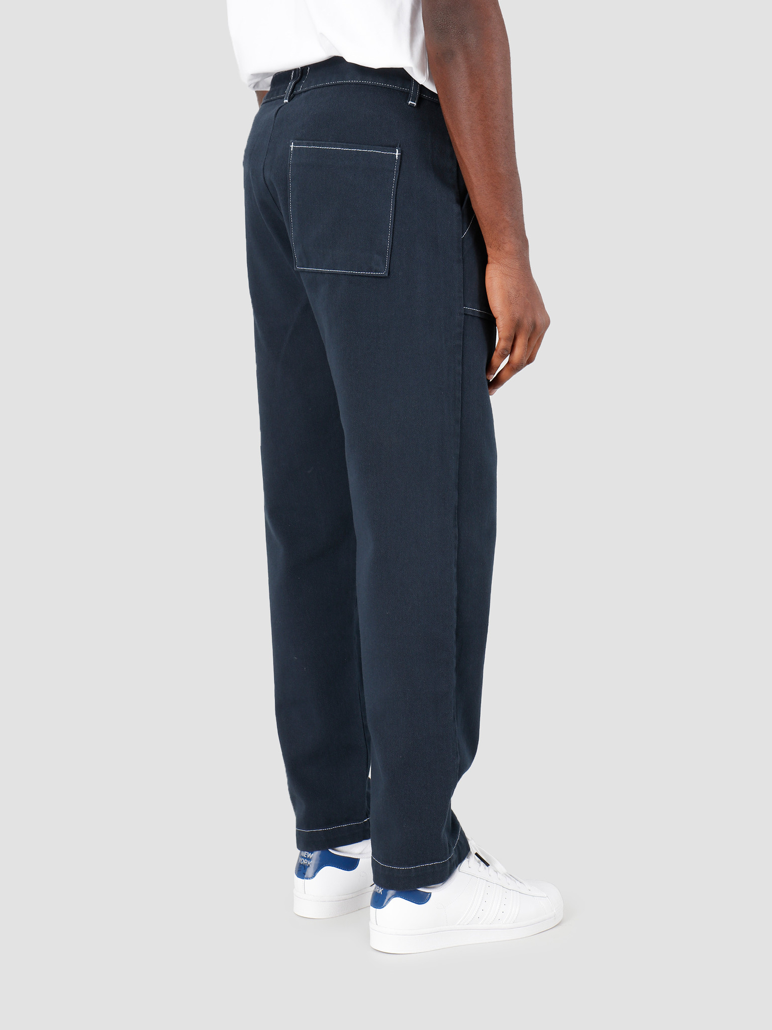 Arte Antwerp Arte Antwerp Paul Pants Navy SS20-038P