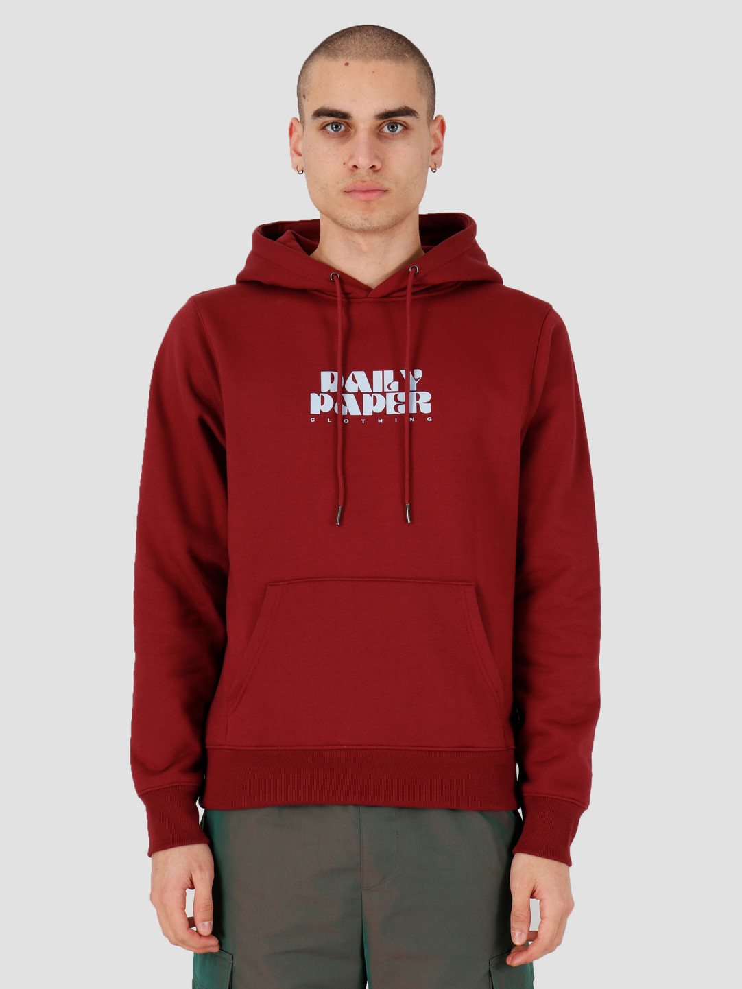 Daily Paper Daily Paper Hasy Hoodie Syrah 20S1HD09-01