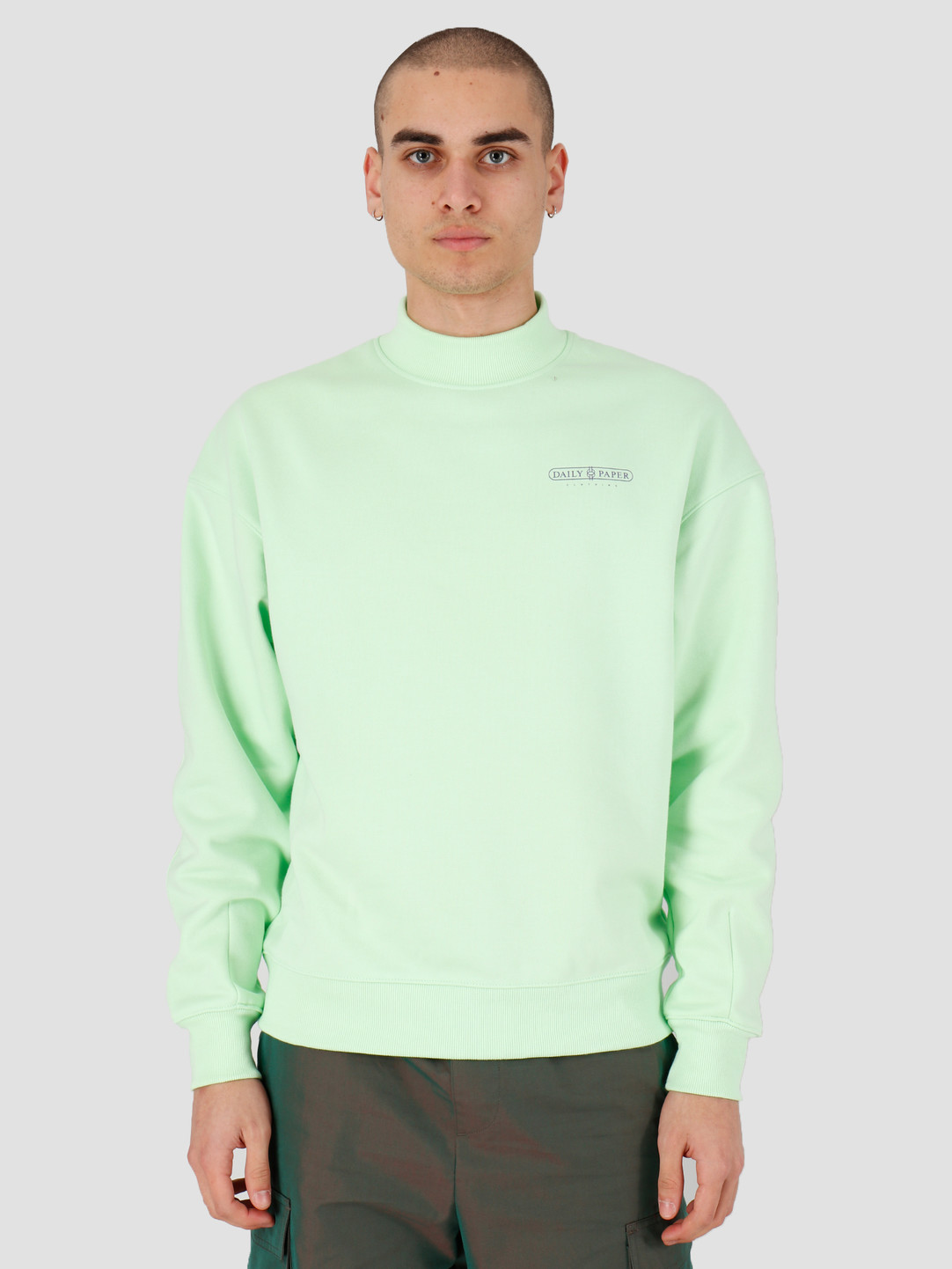 Daily Paper Daily Paper Himpat Sweater Patina Green 20S1SW02-01