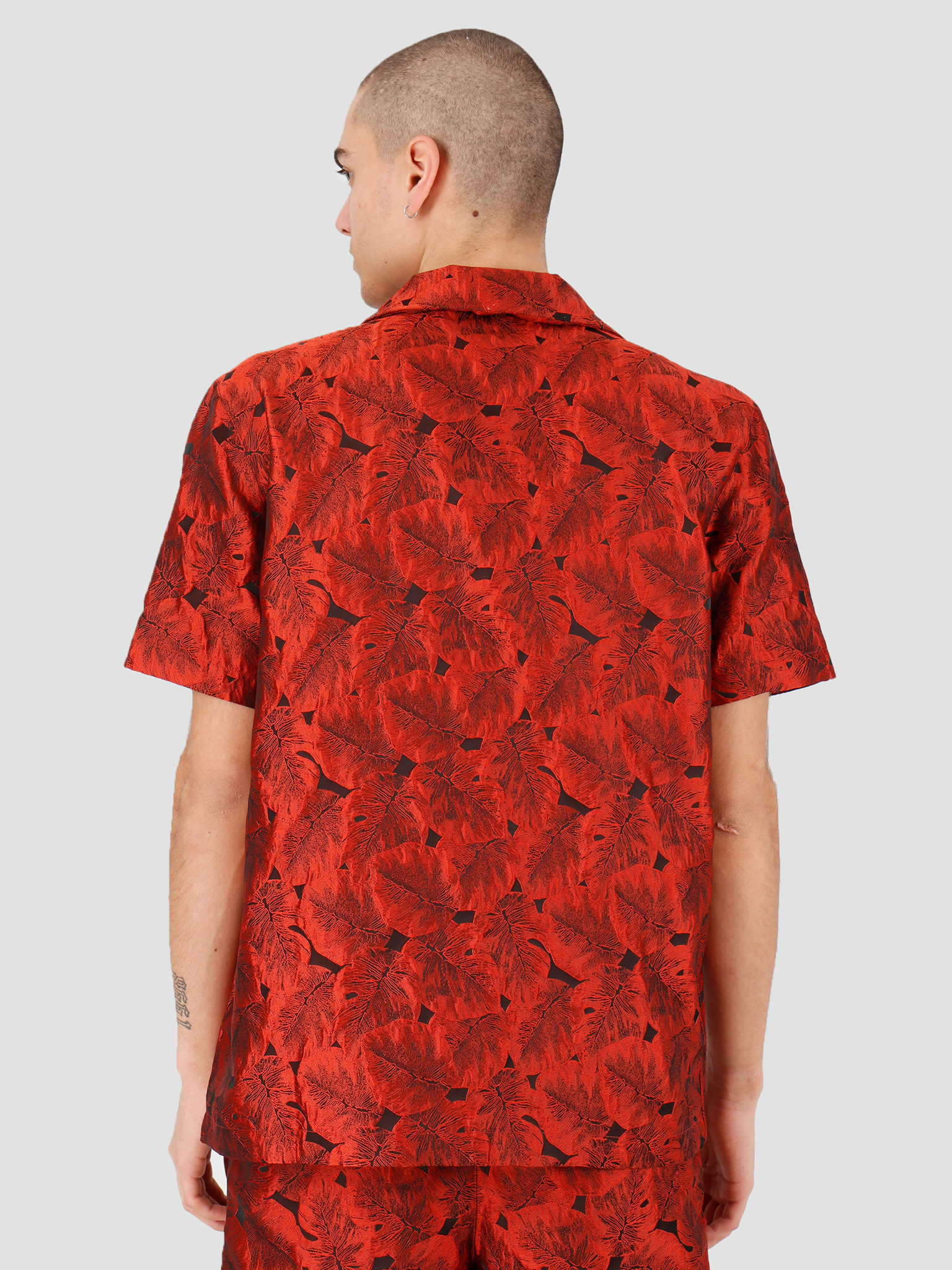 Daily Paper Daily Paper Hajo Shirt Orange Flower 20S1SH03-03