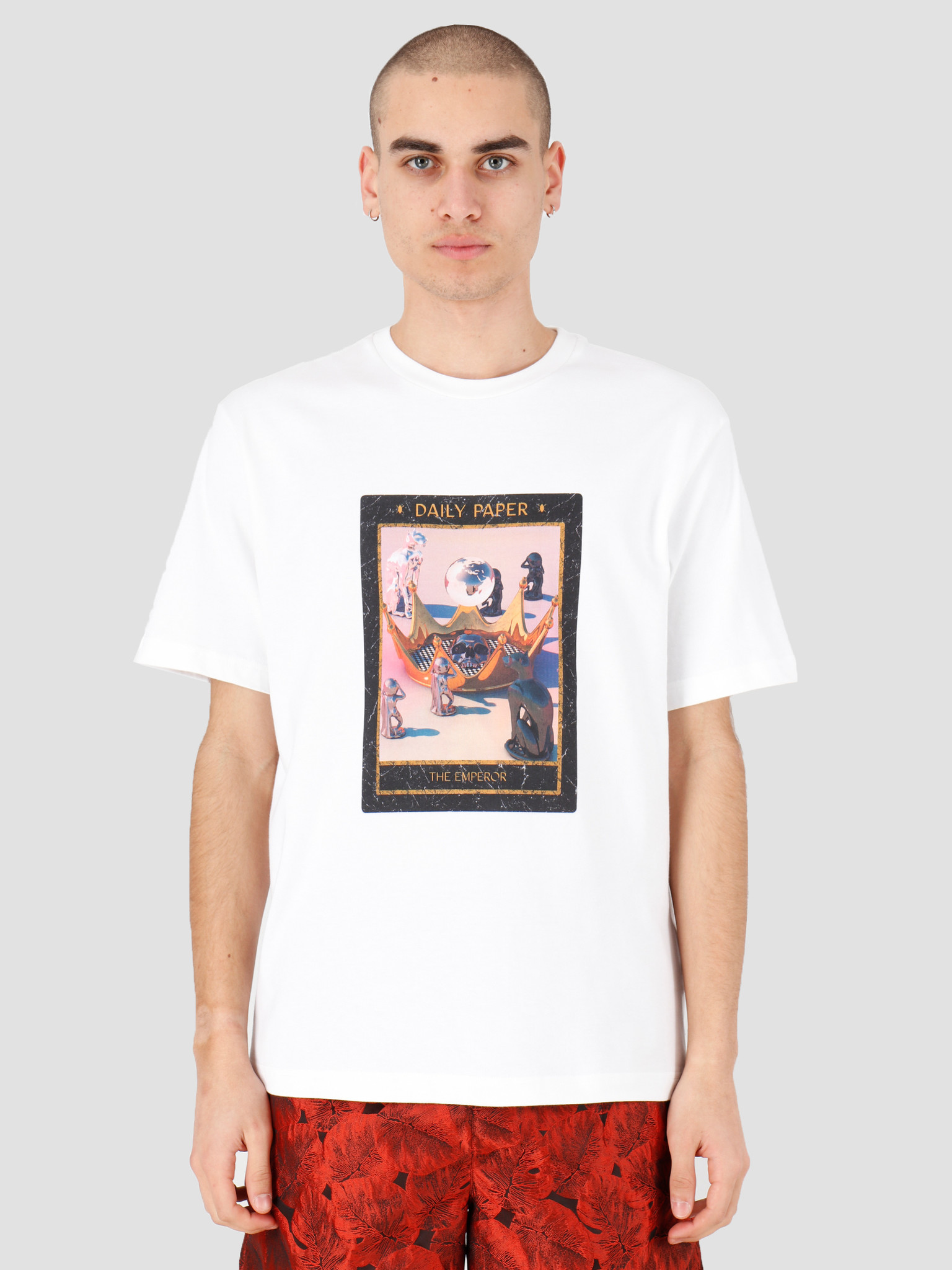 Daily Paper Daily Paper Harot 4 T-shirt White 20C1TS100-04