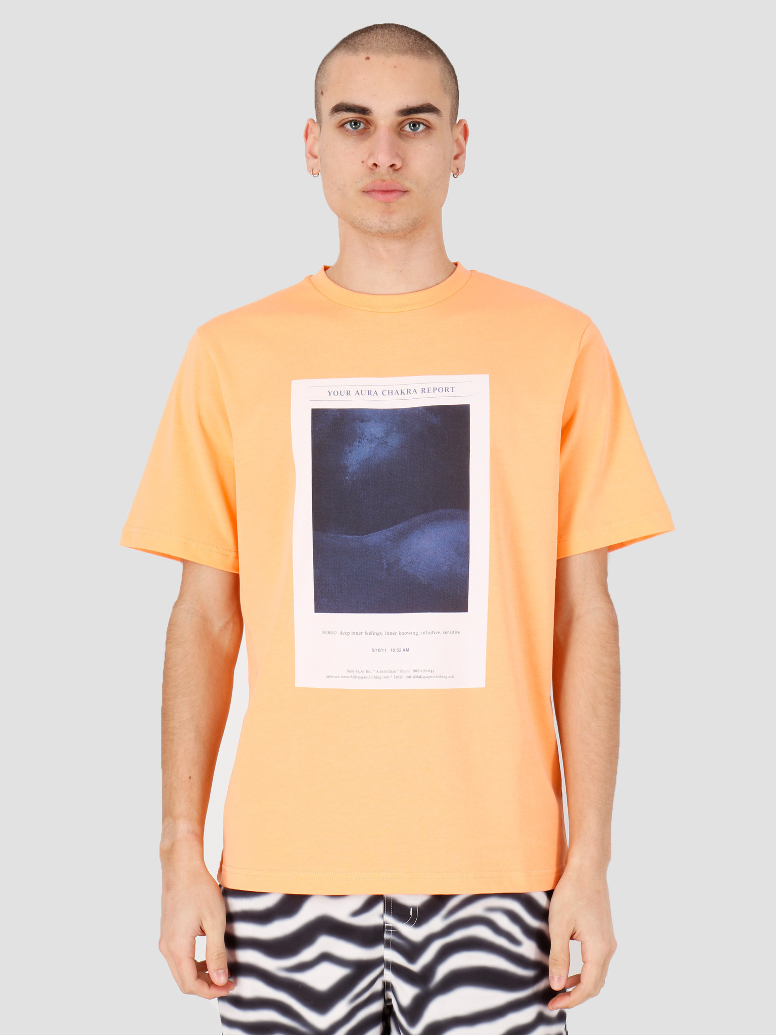 Daily Paper Daily Paper Hencan T-shirt Peach 20S1TS21-01
