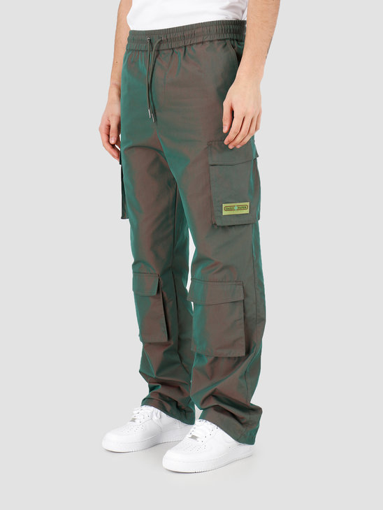 Daily Paper Haben Pant Green Red 20S1PA03-02