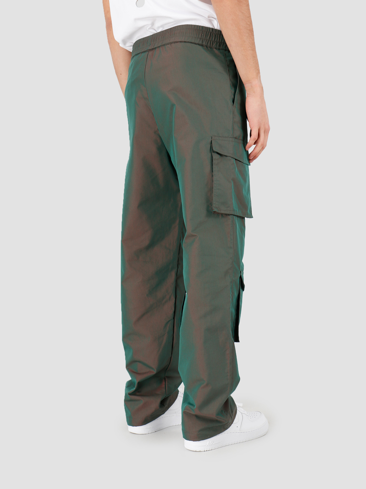 Daily Paper Daily Paper Haben Pant Green Red 20S1PA03-02