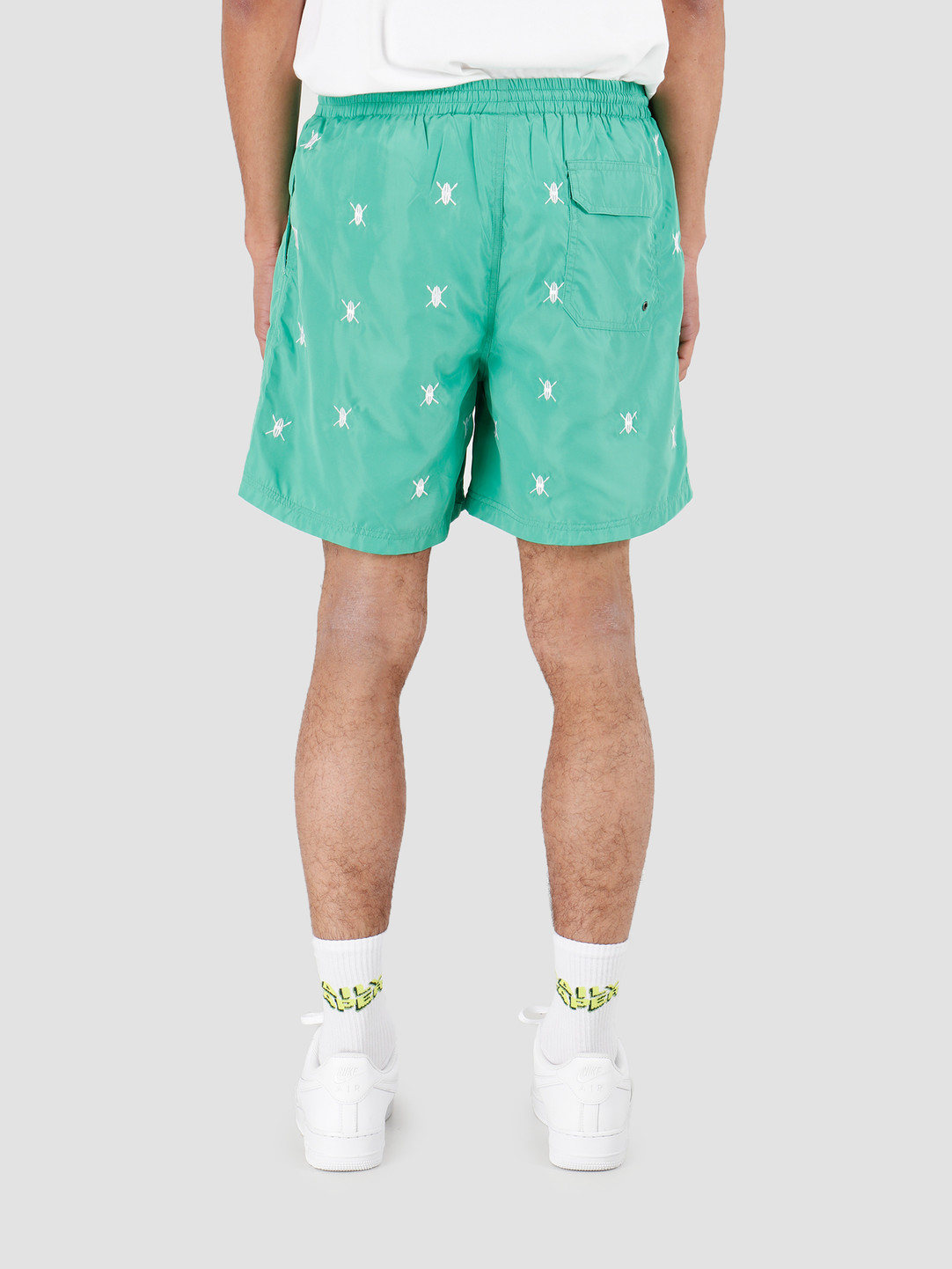 Daily Paper Daily Paper Shield Swimshort Ming Green 20E1SS01-03