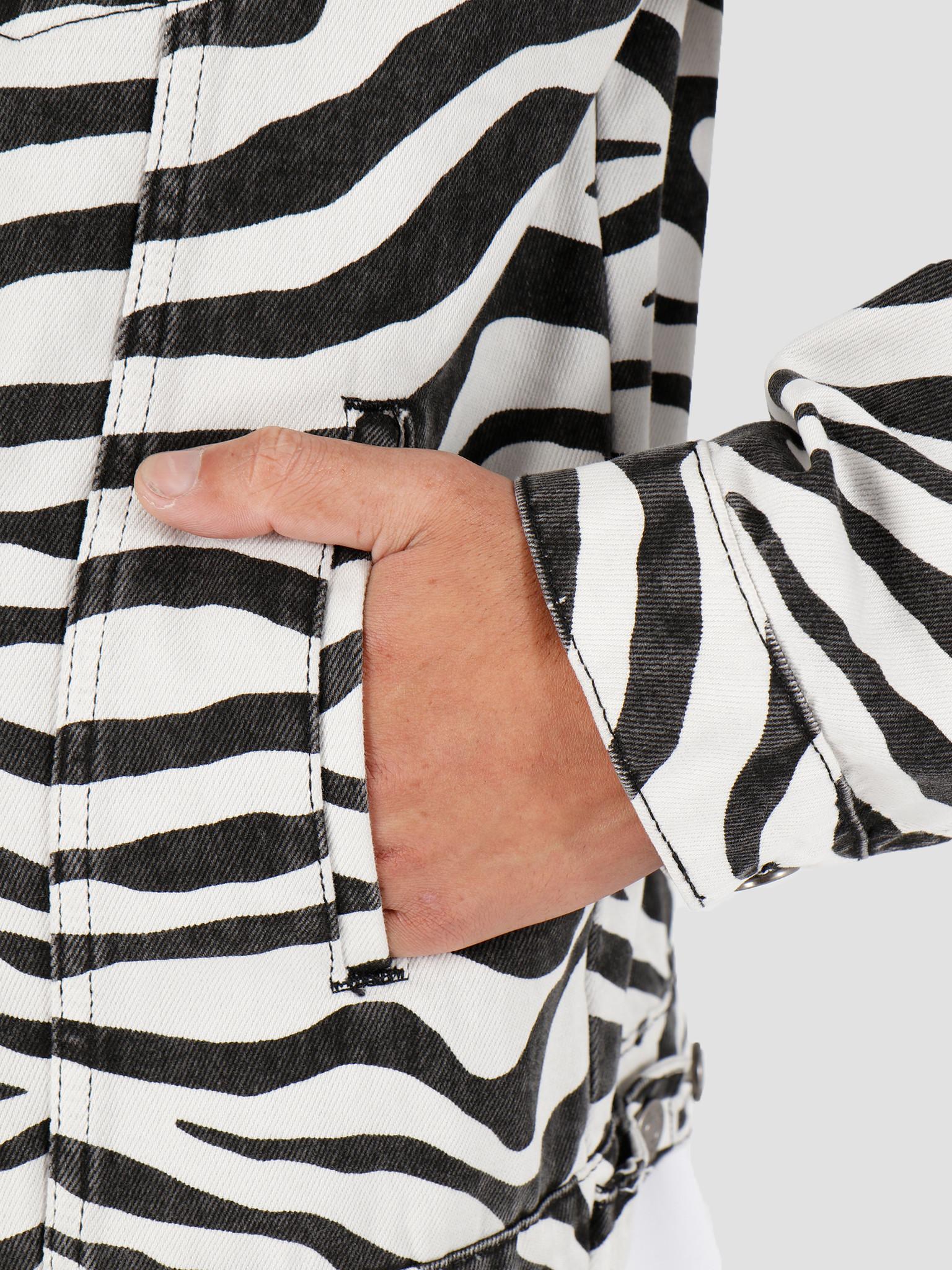 Daily Paper Daily Paper Hajean Outerwear Zebra Denim 20S1OU07-01