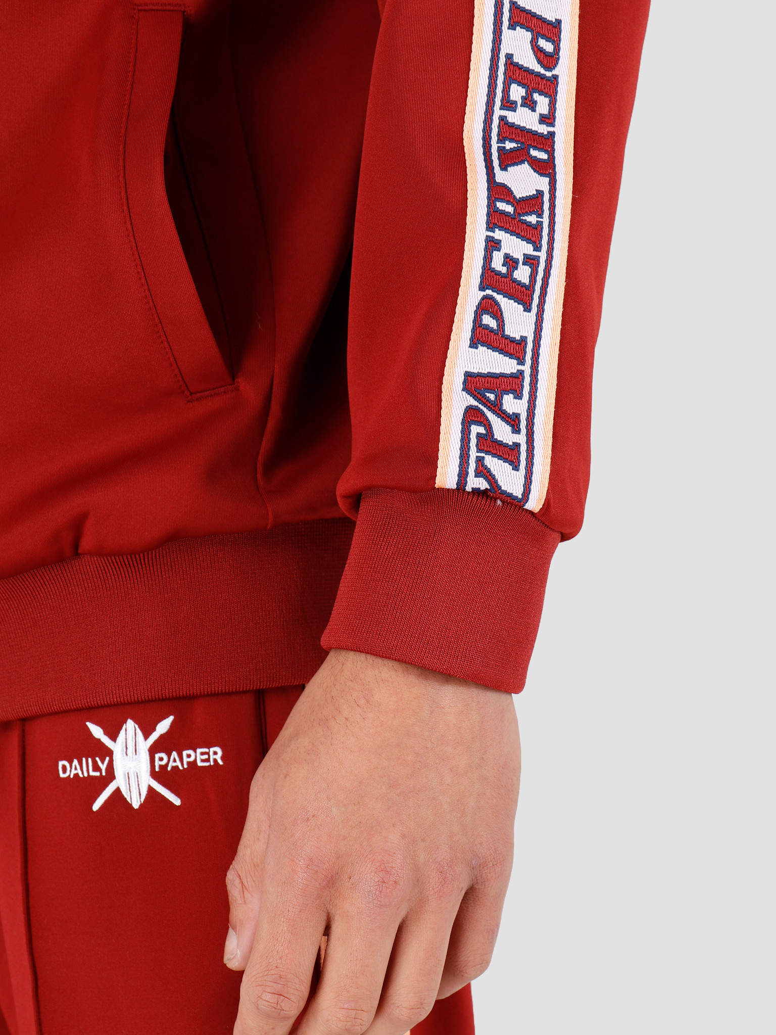 Daily Paper Daily Paper Tapevest Outerwear Syrah Red 20S1OU04-01