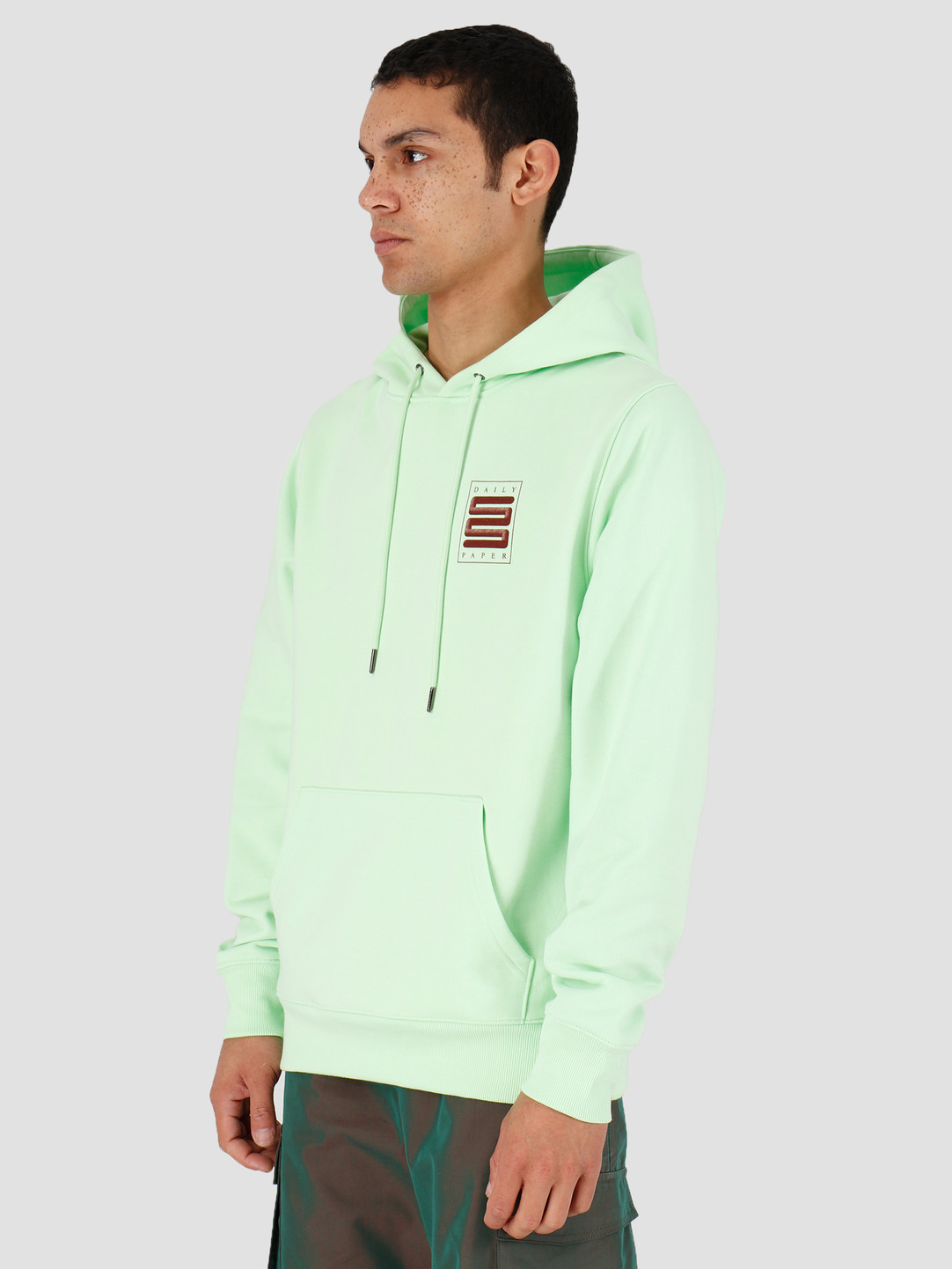 Daily Paper Daily Paper Hapat Hoodie Patina Green 20S1HD06-01