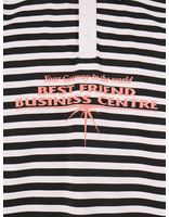 Daily Paper Daily Paper Hapolo Longsleeve Old Pink Black Stripe 20S1LS02-02