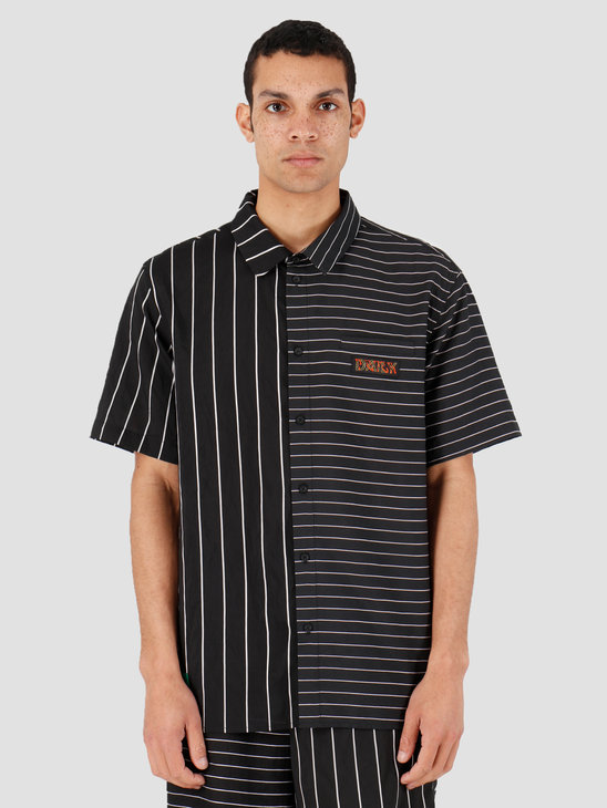Daily Paper Hymie 3 Shirt Black Stripe 20S1SH07-01