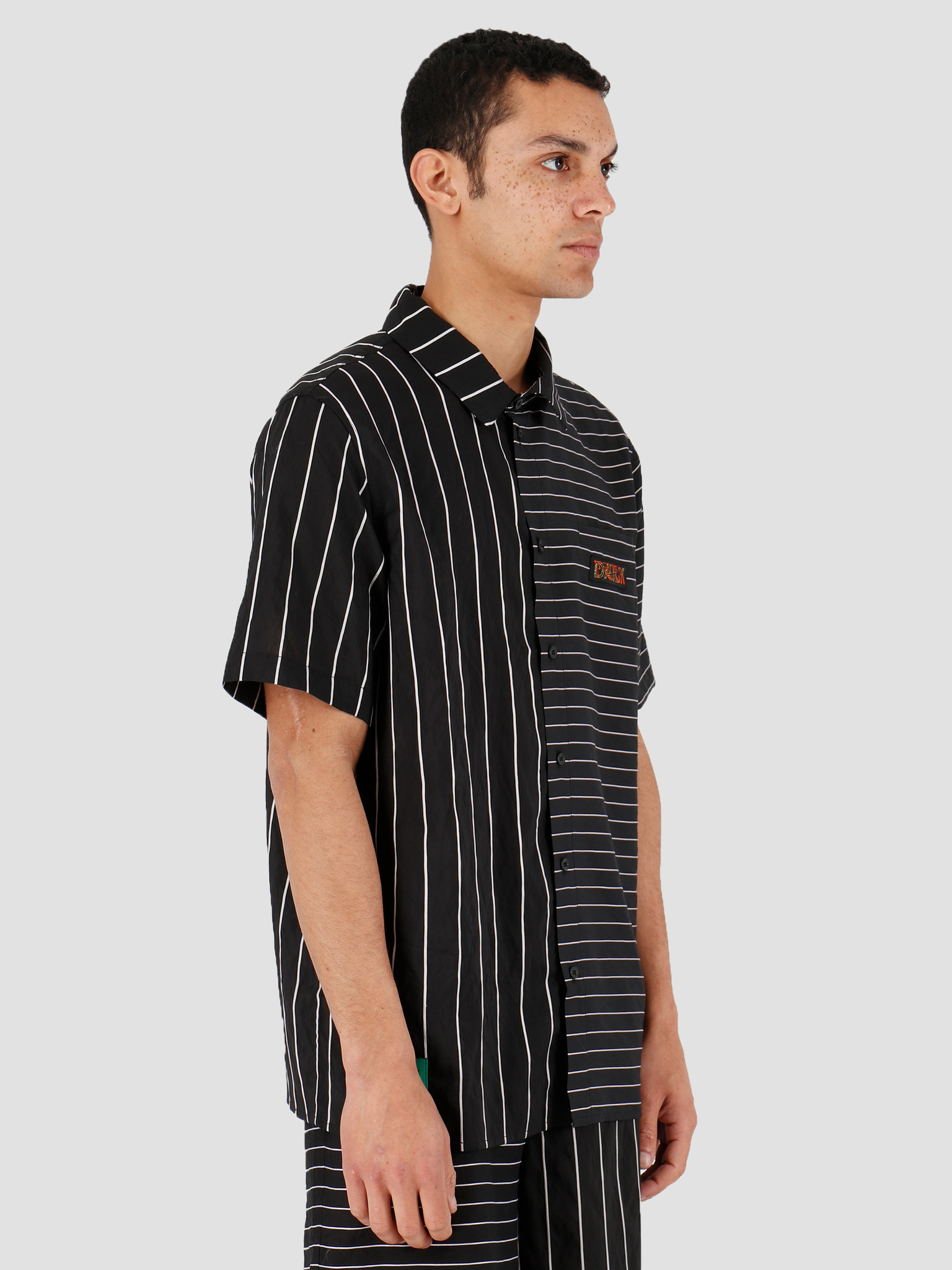 Daily Paper Daily Paper Hymie 3 Shirt Black Stripe 20S1SH07-01