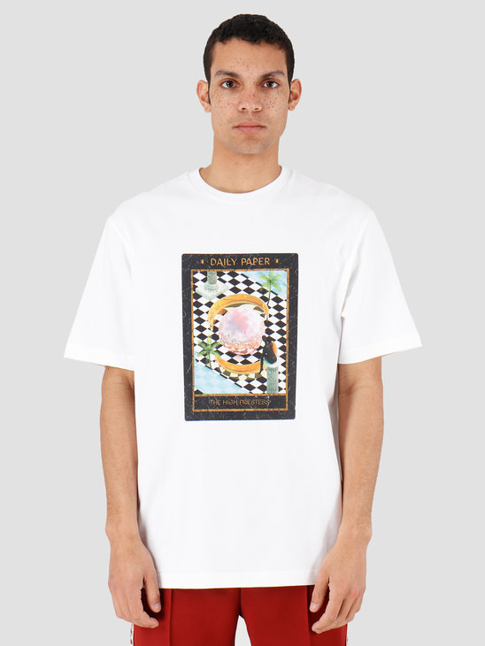 Daily Paper Harot 2 T-shirt White 20C1TS100-02