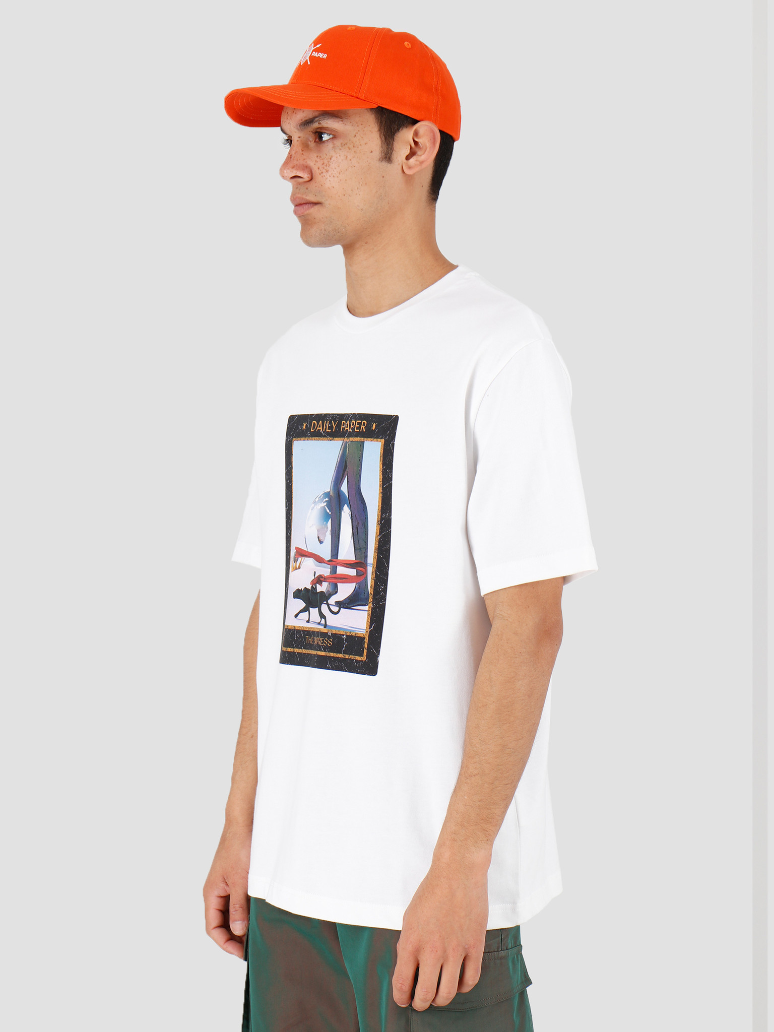 Daily Paper Daily Paper Harot 3 T-shirt White 20C1TS100-03
