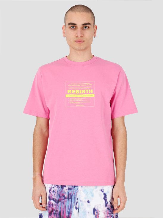 Daily Paper Henfu T-shirt Fuchsia Pink 20S1TS14-01
