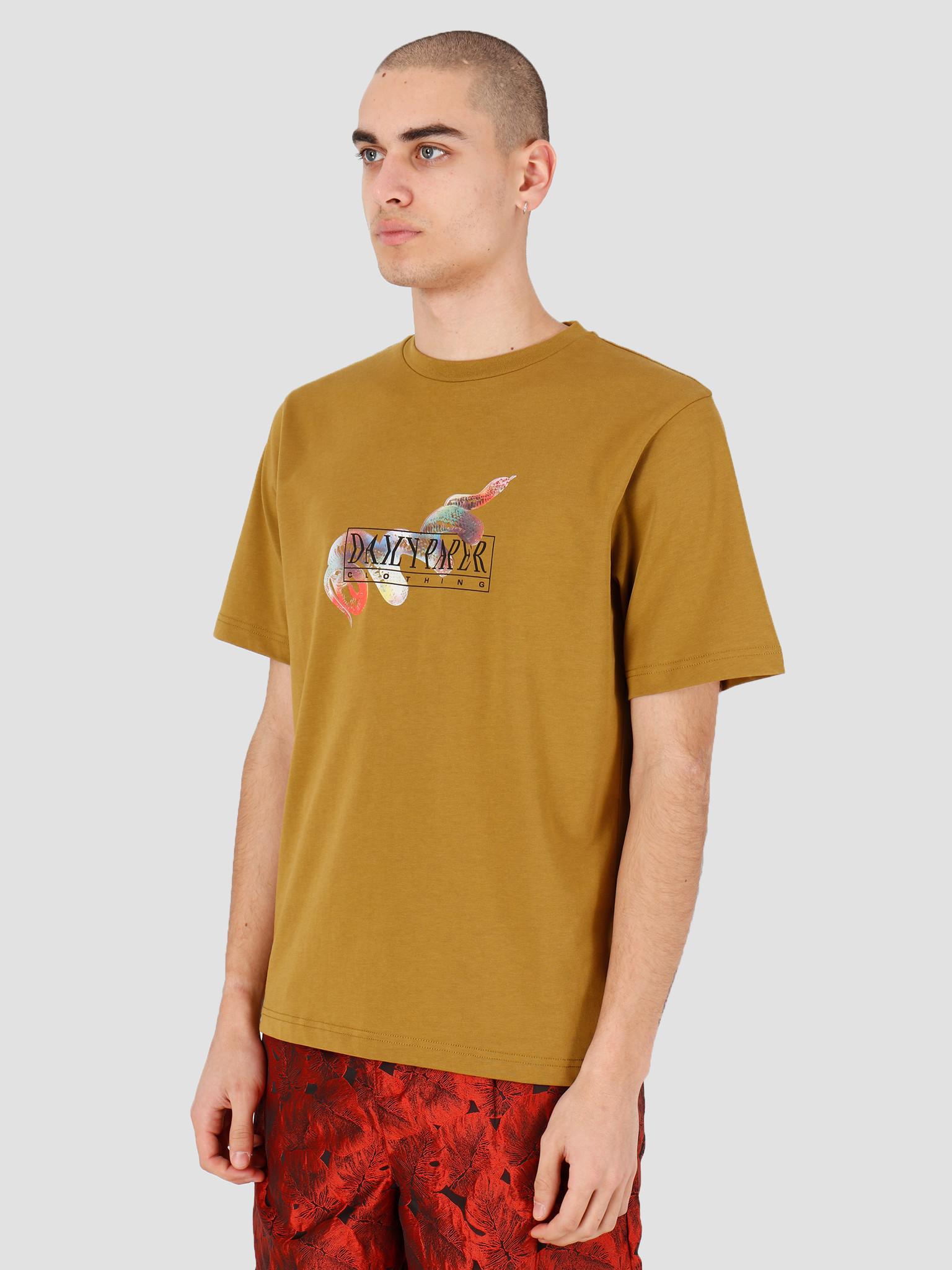 Daily Paper Daily Paper Horpla T-shirt Plantation 20S1TS10-01