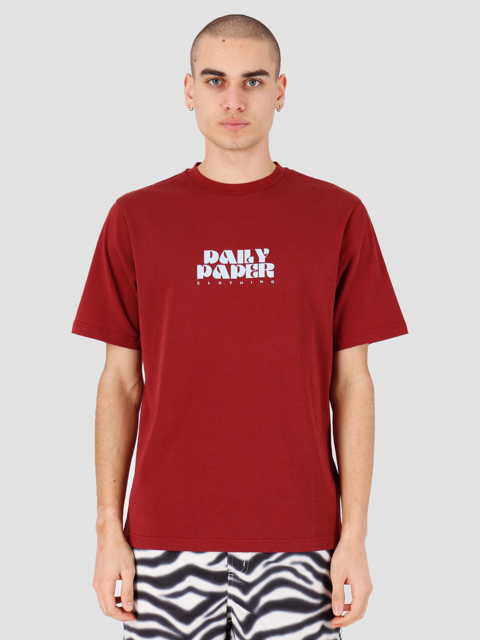Daily Paper Daily Paper Horsy T-shirt Syrah 20S1TS09-01