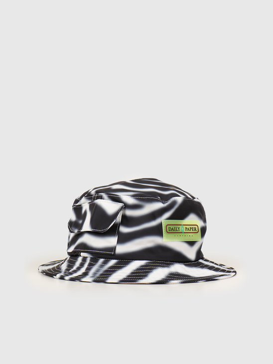 Daily Paper Hezup Hat Blur Zebra 20S1AC04-01