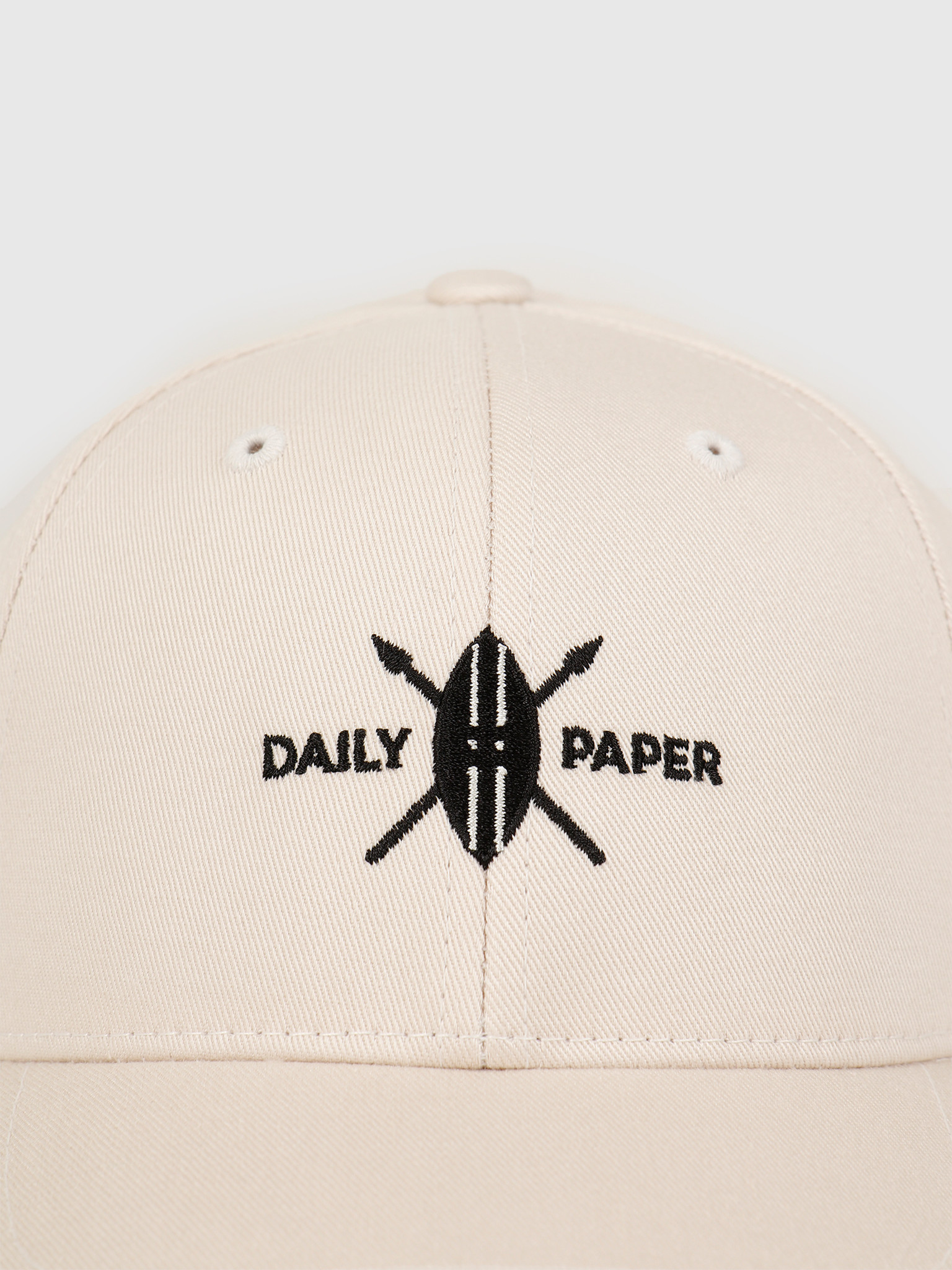 Daily Paper Daily Paper Shield Logo Cap Moonbeam Beige 20E1AC05-01