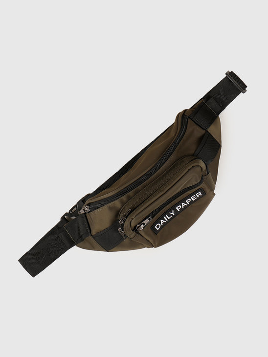 Daily Paper Waistbag Grap Leaf Grey 20E1AC04-01