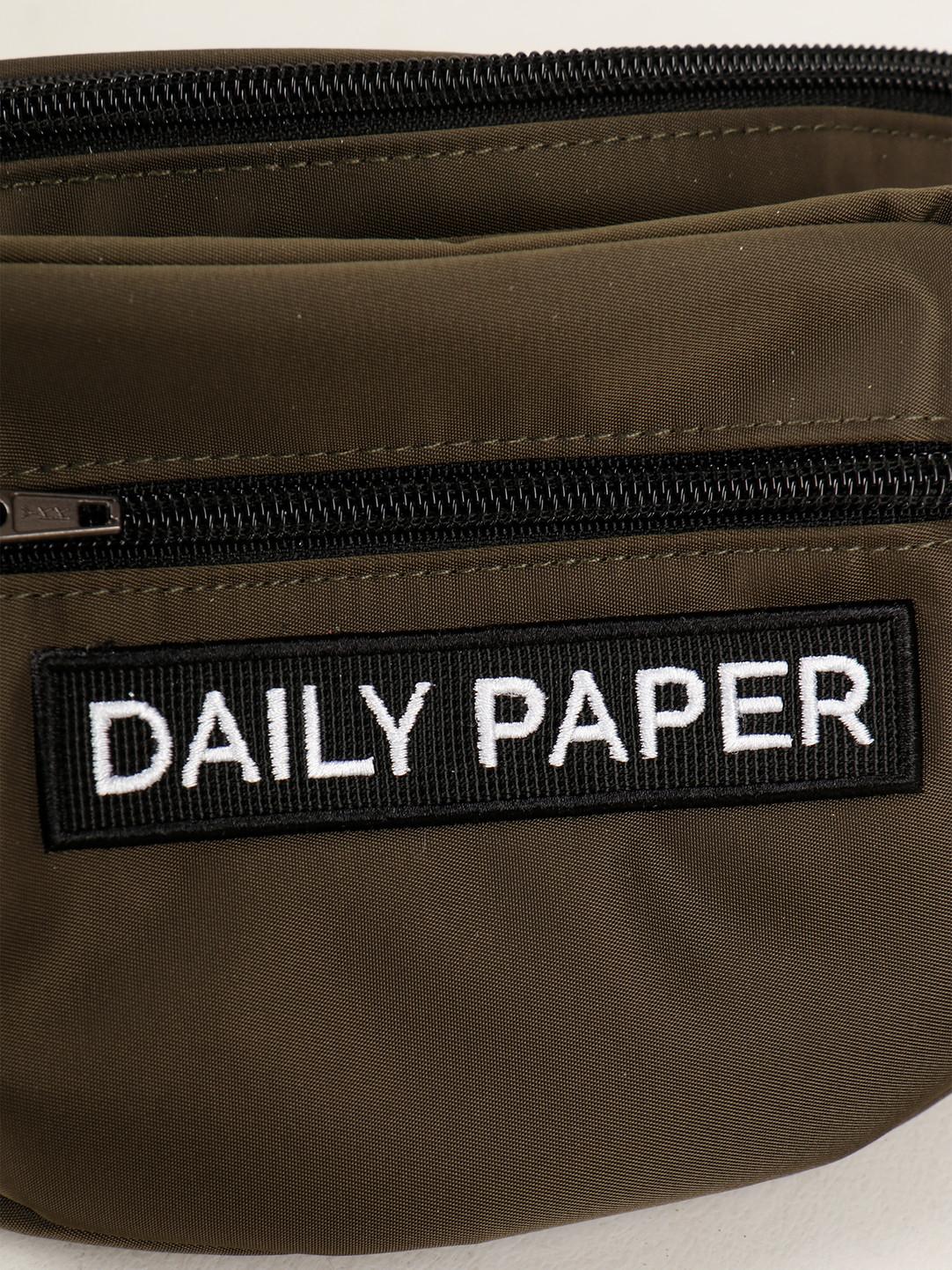 Daily Paper Daily Paper Waistbag Grap Leaf Grey 20E1AC04-01