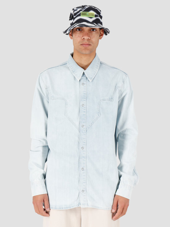 Daily Paper Howboy 2 Shirt Bleach Denim 20S1SH09-01