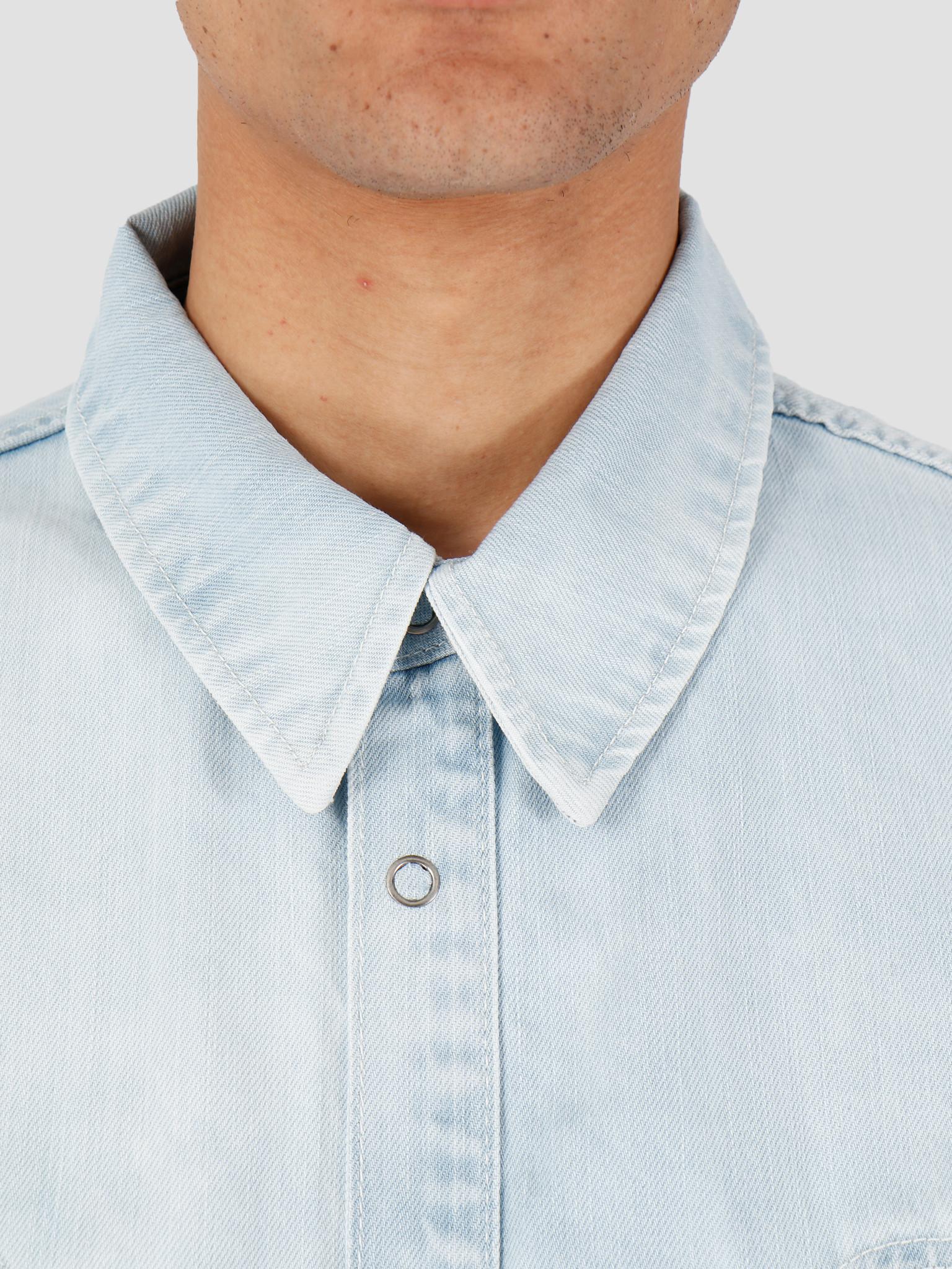 Daily Paper Daily Paper Howboy 2 Shirt Bleach Denim 20S1SH09-01